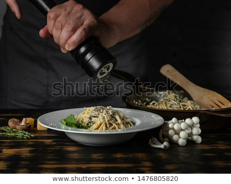 Ingredients for cooking pasta Carbonara Stock photo © furmanphoto