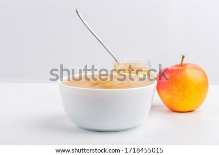 Baby appels peren leggen kom Stockfoto © gewoldi