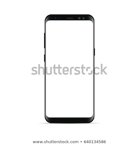 Vektor mobil android berendezés általános telefon Stock fotó © Elisanth