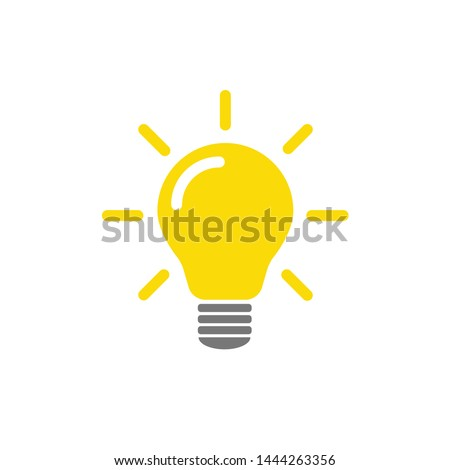 Energy saving fluorescent light bulb on white Stock photo © ozaiachin