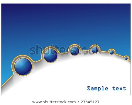 Blue ball fade Stock photo © vipervxw