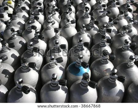 Stacked Scuba Gear Stock photo © Forgiss