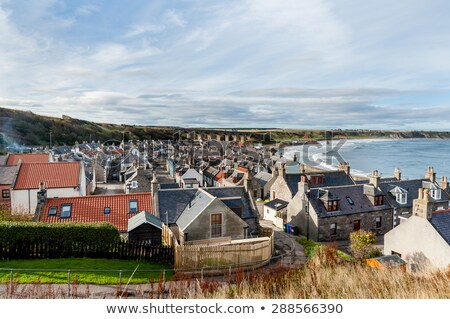 View of the bay from Cullen in North Scotland Stock photo © trgowanlock
