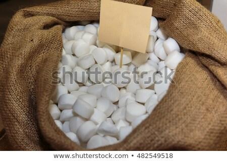 Branco sal pano de saco mar saúde estância termal Foto stock © jirkaejc