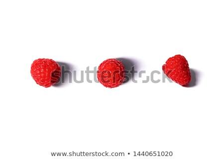 Real raspberry background Stock photo © vavlt