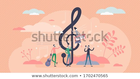 Mini zenelejátszó forma zenei hang számítógép hangszóró Stock fotó © carbouval