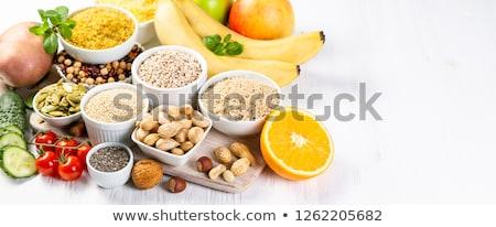 Vegetal grão cenoura fresco refeição dieta Foto stock © M-studio