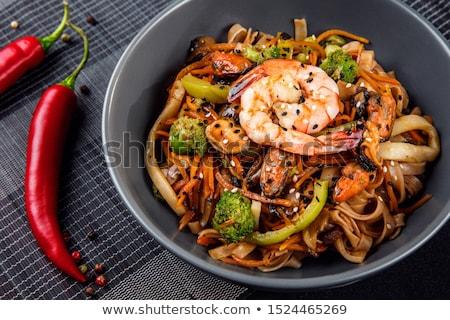 Stock fotó: Kína · finom · szakács · tyúk · étel · gomba