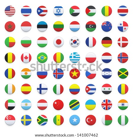 Round icon with flag of morocco Stock photo © MikhailMishchenko