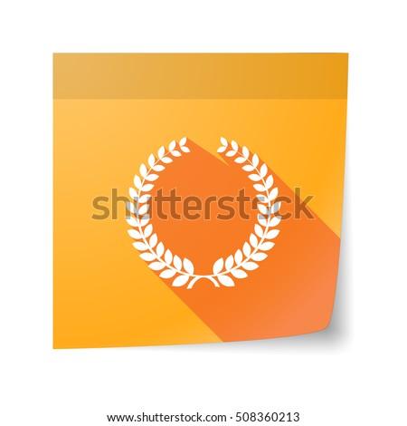 laurel sheet Stock photo © tycoon