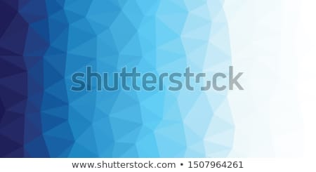 abstract trianglify background Stock photo © artush