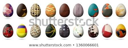 Bienvenida primavera vacaciones tarjeta vector gráfico Foto stock © fotoscool