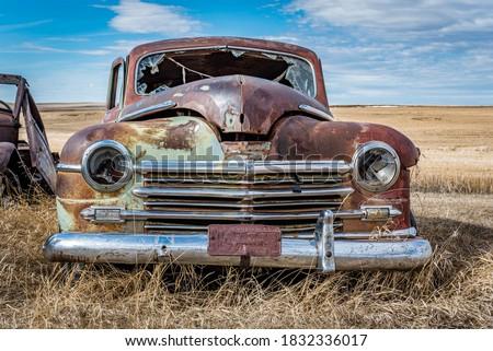 Scenic Saskatchewan countryside Stock photo © pictureguy
