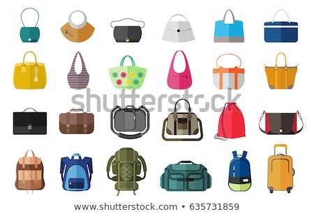 Serviette sac à main vecteur icône design couleur Photo stock © rizwanali3d
