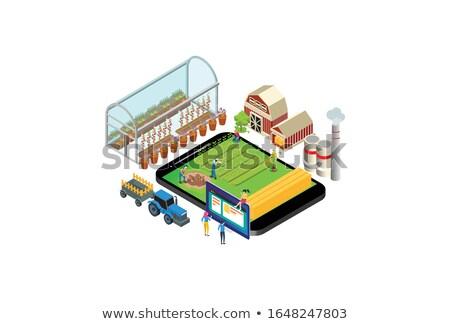 zakenlieden · verschillend · business · kantoor · man · werk - stockfoto © decorwithme