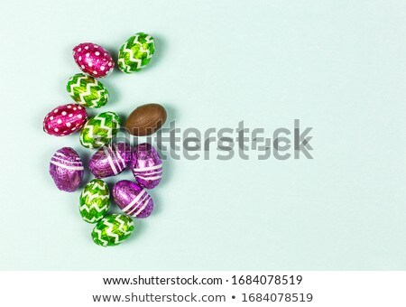 Variety of small chocolates Stock photo © boggy