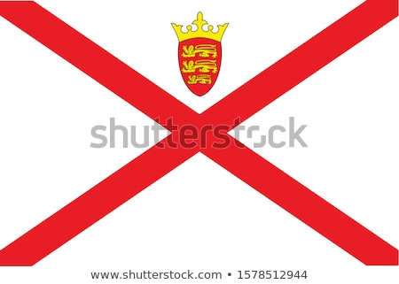 Jersey flag  Stock photo © grafvision
