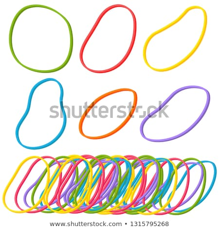 vector set of rubber band stock photo © olllikeballoon