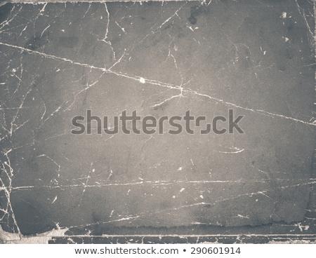 Vecchia foto carta bianco texture nero retro Foto d'archivio © inxti