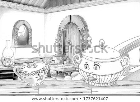 A fairy talke scene Stock photo © bluering