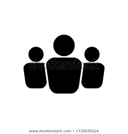 Entrepreneurs Discussing Business Isolated Icon Stock photo © robuart
