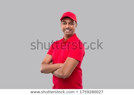 индийской склад работник равномерный бизнеса Сток-фото © dolgachov