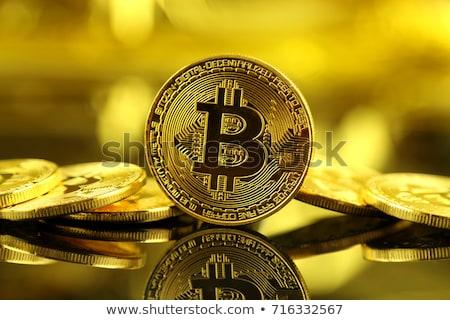 Bitcoins and new virtual money concept Stock photo © JanPietruszka