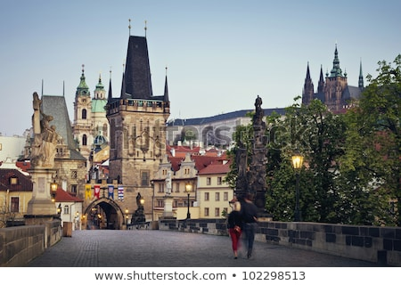 Prague, Mala Strana. View from Hradcany Stock photo © photocreo