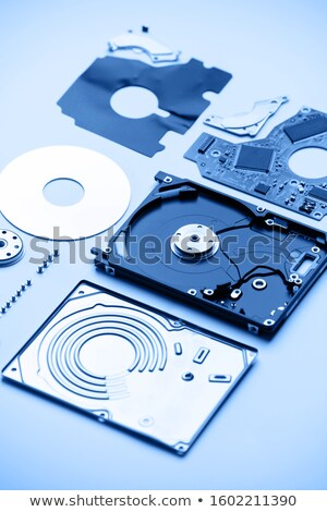 optical disk drive blue toned stock photo © moses