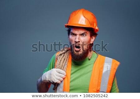 Angry Miner Stock photo © lisafx