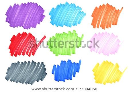аннотация красочный наконечник маркер пер рисунок Сток-фото © latent