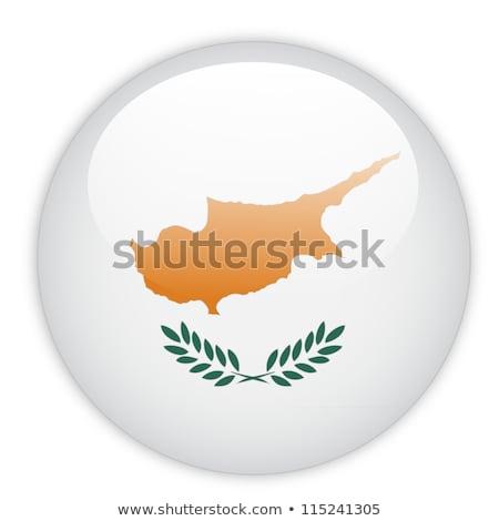 кнопки Кипр карта острове евро стране Сток-фото © Ustofre9