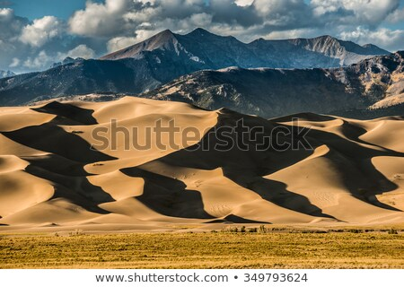 Sunset in Great Sand Dunes National Park Stock photo © benkrut