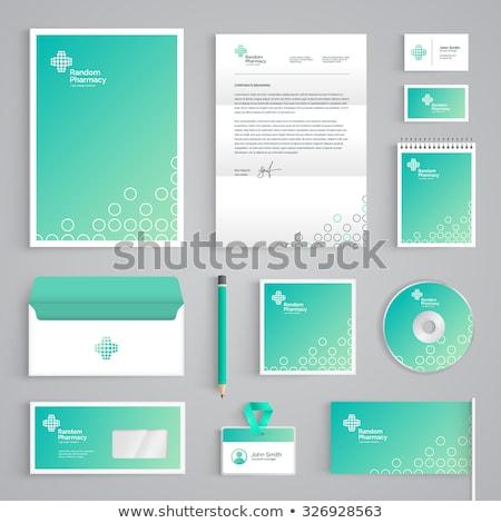 緑 cd コンパクトディスク ベクトル 音楽 映画 ストックフォト © Aiel
