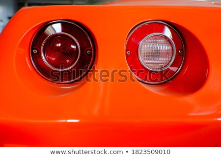 Sportscar Tail Light Macro Stock photo © ArenaCreative