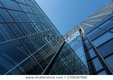 facade of the building Stock photo © RuslanOmega
