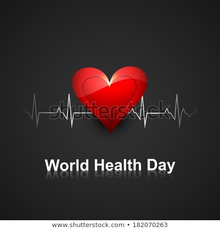 Vector beautiful world heath day medical colorful background Stock photo © bharat