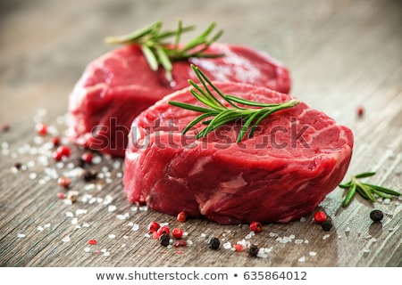 fillet of beef with spices  Stock photo © OleksandrO