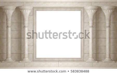 Classical Marble Columns Stock photo © manfredxy