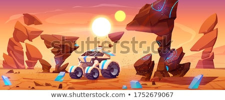 mars planet surface Stock photo © tracer