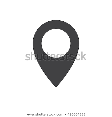 mapping pins icon Stock photo © nezezon