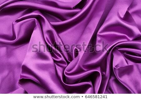 Stockfoto: Paars · satijn · materiaal · mode · ontwerp · weefsel