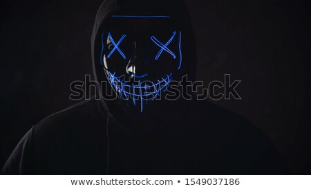 masked man Halloween Stock photo © adrenalina