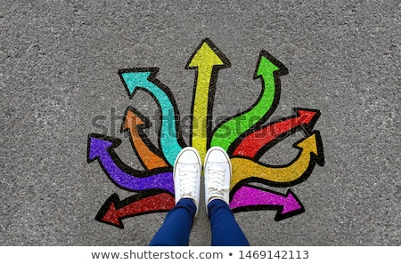colorful choice symbol stock photo © sahua