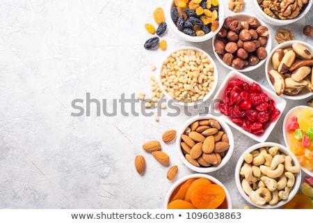 gedroogd · Rood · bessen · witte · vruchten · gezondheid - stockfoto © m-studio