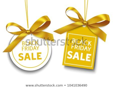 karácsony · vásár · matricák · izolált · fehér · kiskereskedelem - stock fotó © studioworkstock