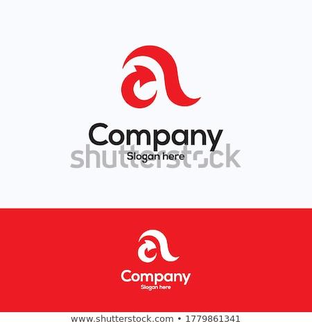 letter a arrow black vector symbol stock photo © blaskorizov