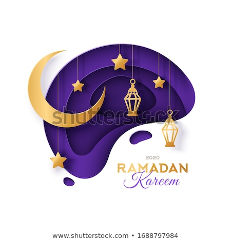 dark eid mubarak sale banner design Stock photo © SArts