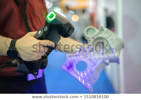 3D scanner machine dentaires bureau technologie Photo stock © Lopolo