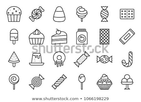 Candy icon Stock photo © smoki